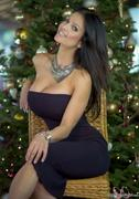 Дениз Милани, фото 4159. Denise Milani Xmas Part 2 :, foto 4159
