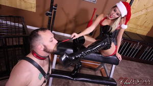 Clubdom - Nikki Brook and Santa's Boot