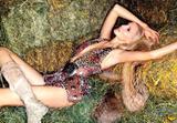 Nadja Auermann appeared in the 1995 Pirelli calendar and in George Michael's Too Funky music-video. Foto 20 (Надя Ауэрманн появилась в 1995 календаря Pirelli и в тоже музыку Джорджа Майкла Funky-Video. Фото 20)