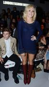 Pixie Lott - Mark Fast  fashion show in London 09/17/12