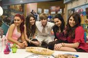 Victoria Justice, Ariana Grande, Elizabeth Gillies, Daniella Monet, Justin Bieber - Crush Night Promo Shoot (6 UHQ)