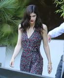 Alexandra Daddario - Arrives at ITV Studios in London | June 1, 2017