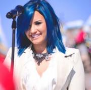 Demi Lovato- 2013 Disney Parks Christmas Day Parade Taping in Anaheim 11/09/13