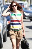 Michelle Monaghan | Shopping in Beverly Hills | October 13 | 12 pics