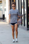 Vanessa Minnillo leggy while shopping in Sherman Oaks 9/09/10