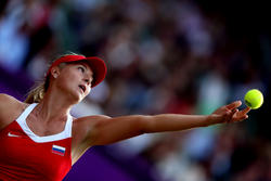 London Olympics Maria Sharapova Upskirt And Hot Legs