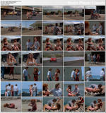 PATTY DUFFEK (former playmate) - agent Pattycakes in Savage Beach (1989) - 1 clip